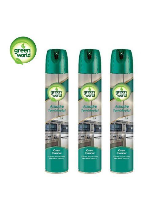 Green World Ankastre Temizleyici 300 ml 3 Adet